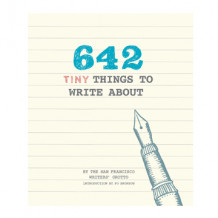 642 Tiny Things to Write About av Po Bronson (Notatblokk)