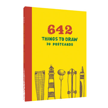 Omslag - 642 Things to Draw: 30 Postcards