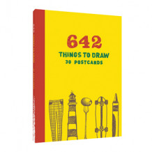 642 Things to Draw: 30 Postcards av Chronicle Books (Notatblokk)