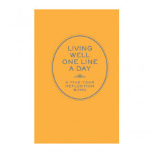Living Well One Line a Day av Chronicle Books (Kalender)