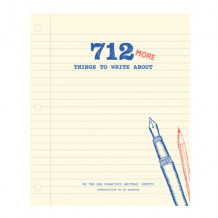 712 More Things to Write About av San Francisco Writers Group (Notatblokk)