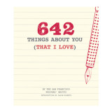 Omslag - 642 Things About You (That I Love)