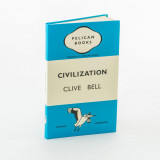 Omslag - Civilization - Clive Bell. Notebook. Penguin Merchandise