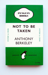 Omslag - Not to be taken - Anthony Berkeley. Notebook. Penguin Merchandise