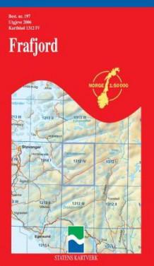 frafjord kart Frafjord (Kart, falset)   Turkart   Tanum nettbokhandel frafjord kart