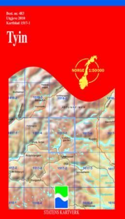 tyin kart Tyin (Kart, falset)   Turkart | Tanum nettbokhandel tyin kart