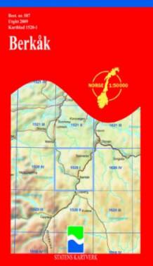berkåk kart Berkåk (Kart, falset)   Turkart   Tanum nettbokhandel berkåk kart
