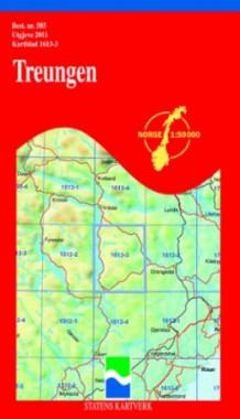 treungen kart Treungen (Kart, falset)   Turkart | Tanum nettbokhandel treungen kart
