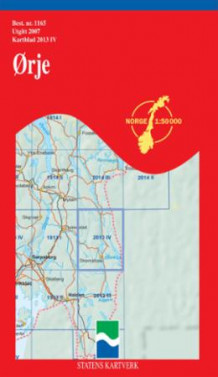 ørje kart Ørje (Kart, falset)   Turkart | Tanum nettbokhandel ørje kart
