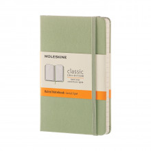 Moleskine willow green pocket ruled note av Moleskine, (Innbundet)