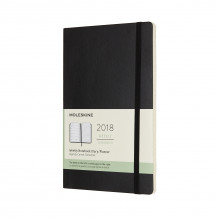 2018 moleskine large weekly notebook dia (Heftet)