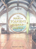 The Maps of Tolkien's Middle-earth av Brian Sibley (Innbundet)