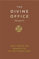 Divine Office Volume 3 (Praktinnbinding)