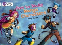 How To Make Manga Characters av Katy Coope (Pakke)