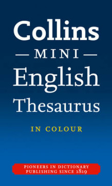 Collins Mini Thesaurus av Collins Dictionaries (Heftet)