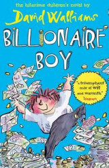 Omslag - Billionaire boy