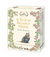 A Year in Brambly Hedge av Jill Barklem (Innbundet)
