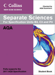 Collins GCSE Science 2011: Separate Sciences Student Book: AQA av Mary Jones, Lyn Nicholls og Louise Petheram (Heftet)