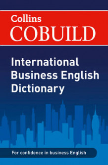 COBUILD International Business English Dictionary (Heftet)