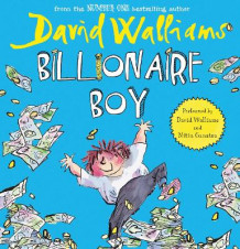 Billionaire Boy av David Walliams (Lydbok-CD)