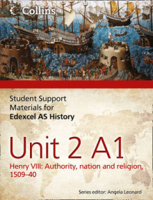 Edexcel AS Unit 2 Option A1: Henry VIII: Authority, Nation and Religion, 1509-40 av Adam Bloomfield og Sarah Moffatt (Heftet)