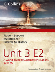 Student Support Materials for History: Edexcel A2 Unit 3 Option E2: A World Divided: Superpower Relations, 1944-90 av Robin Bunce, Andrew Mitchell og Laura Gallagher (Heftet)