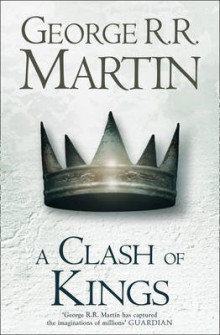 A Clash of Kings av George R. R. Martin (Innbundet)