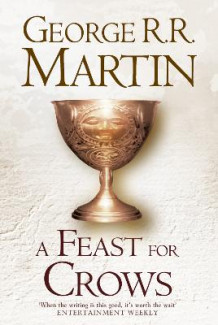 A Feast for Crows av George R. R. Martin (Innbundet)