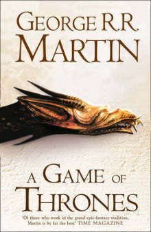 A Game of Thrones av George R. R. Martin (Innbundet)