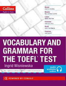 Vocabulary and Grammar for the TOEFL Test av Ingrid Wisniewska (Heftet)