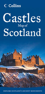 Castles Map of Scotland av Collins Maps (Kart, falset)