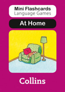 Mini Flashcards Language Games: At Home av Susan Thomas (Undervisningskort)