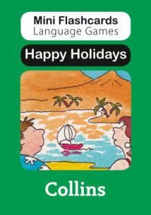 Mini Flashcards Language Games: Happy Holidays av Susan Thomas (Undervisningskort)