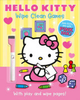 Omslag - Hello Kitty: Wipe Clean Games: Hello Kitty: Wipe Clean Games