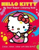 Omslag - Hello Kitty: My Best Bumper Colouring Book: Hello Kitty: My Best Bumper Colouring Book Part 1