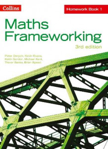 Maths Frameworking: KS3 Maths Homework Book 1 av Peter Derych, Kevin Evans, Keith Gordon, Michael Kent, Trevor Senior og Brian Speed (Heftet)