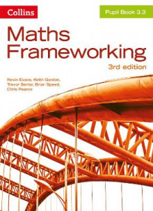 KS3 Maths Pupil Book 3.3 av Kevin Evans, Keith Gordon, Trevor Senior, Brian Speed og Chris Pearce (Heftet)