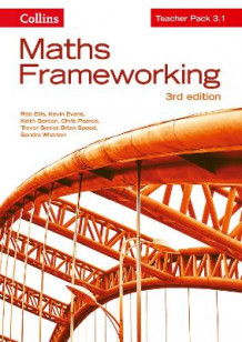 Maths Frameworking: KS3 Maths Teacher Pack 3.1 av Rob Ellis, Kevin Evans, Keith Gordon, Chris Pearce, Trevor Senior, Brian Speed og Sandra Wharton (Spiral)