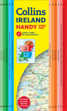Handy Map Ireland av Collins Maps (Kart, plano)