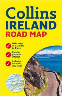 Ireland Road Map av Collins Maps (Kart, plano)