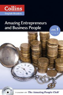 Collins Amazing People ELT Readers: Amazing Entrepreneurs & Business People : A2 (Heftet)