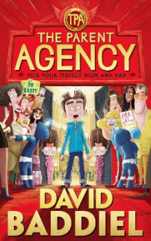 The Parent Agency av David Baddiel (Innbundet)