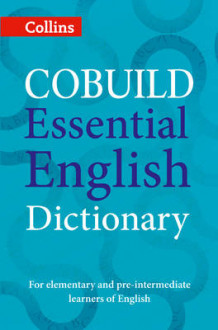 COBUILD Essential English Dictionary av Collins Dictionaries (Heftet)