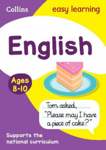 English Ages 8-10 av Collins Easy Learning (Heftet)