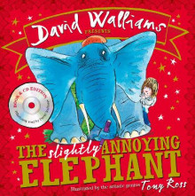 The Slightly Annoying Elephant av David Walliams (Blandet mediaprodukt)
