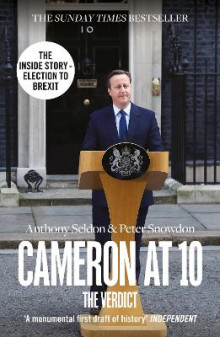 Cameron at 10 av Anthony Seldon og Peter Snowdon (Heftet)