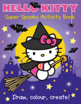 Omslag - Hello Kitty Super Spooky Activity Book