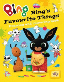 Bing's Favourite Things drawing and colouring book (Heftet)