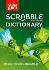 Omslag - Collins Scrabble Dictionary Gem Edition