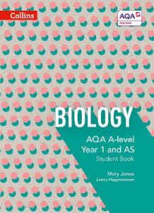 AQA A Level Biology Year 1 and AS Student Book av Mary Jones, Lesley Higginbottom, Keith Hirst og Mike Bailey (Heftet)